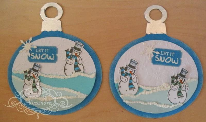 Alex Scrap Creations Kerstkaarten En Kerstkaart Swap Cupcakes