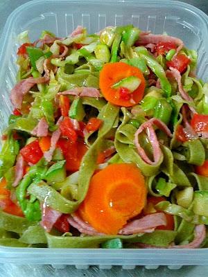 Comer com Saúde: Talharim de Espinafre com Vegetais