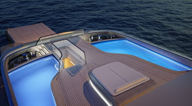 ピニンファリーナがデザインした高級ヨットのコンセプトがスゴい!