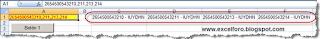 VBA: La funcion SPLIT en una macro de Excel.
