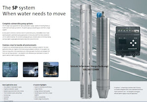 Harga Pompa Submersible Pump