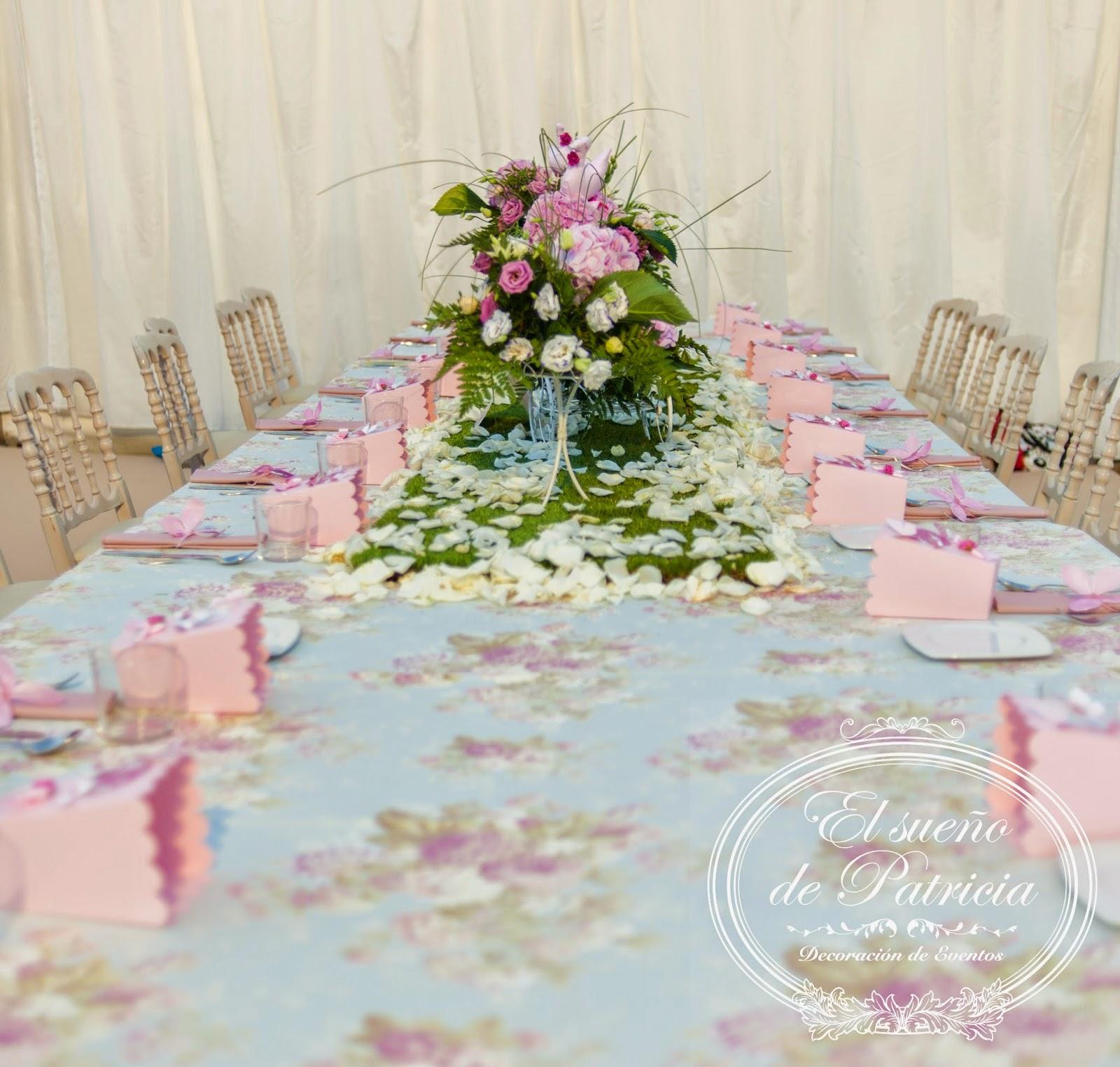 El sue o de patricia eventos una boda rodeada de naturaleza - Adornos con chuches ...