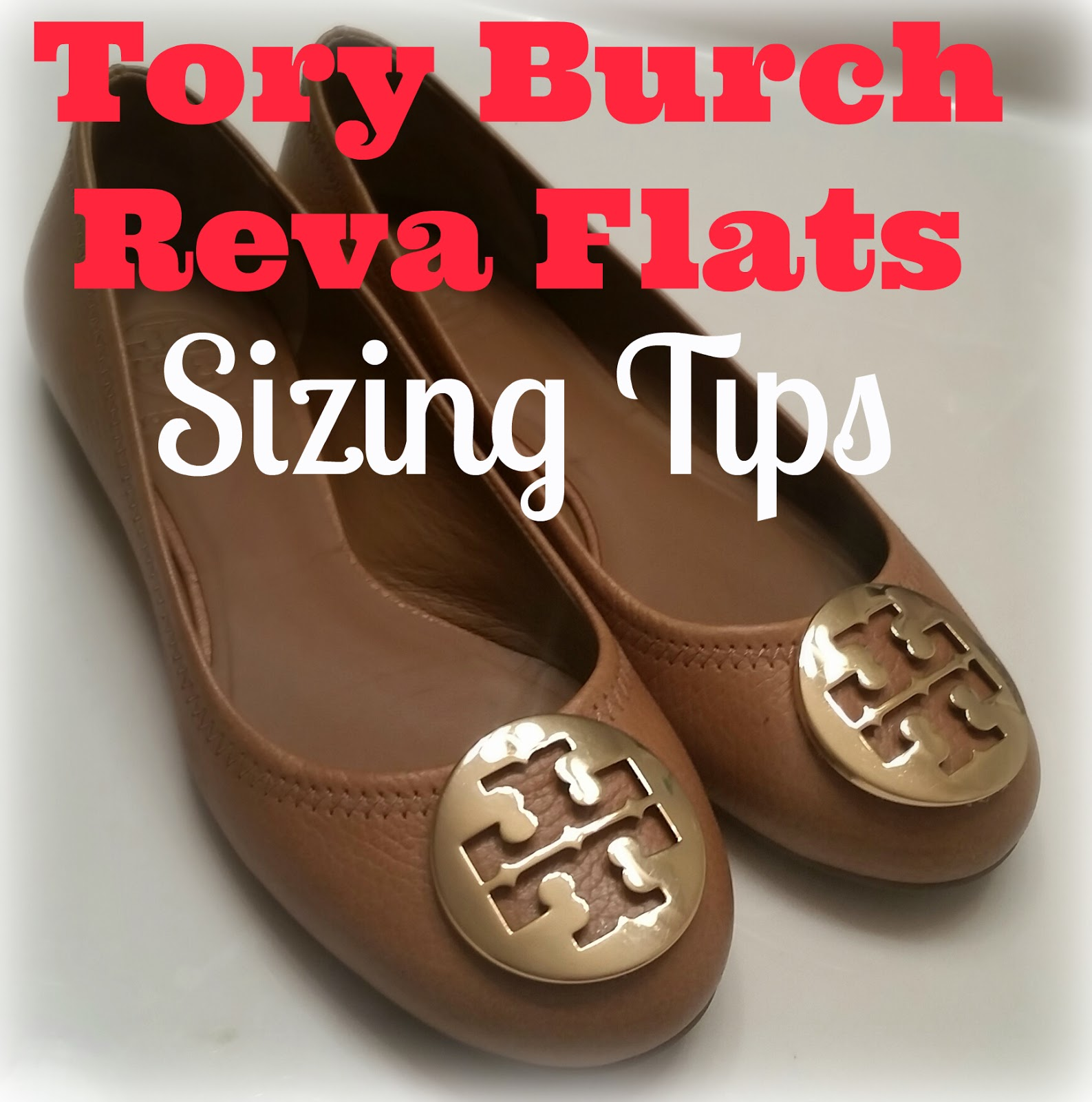 Tory Burch Reva Flats Sizing Tips. I've been meaning to do this post for  quite a while. So for a little break from all the moving talk, why not at  nearly 3 ...