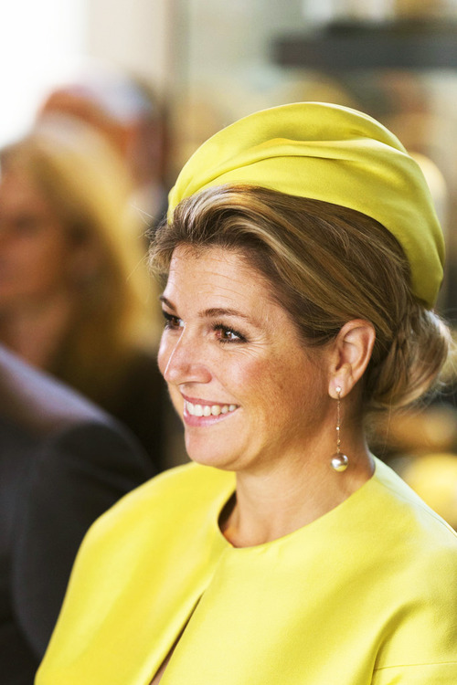 Queen Maxima visited the Amsterdam Micropia Museum