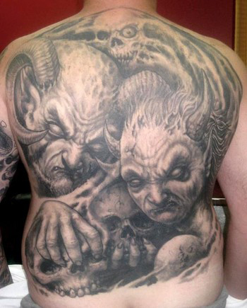 Demon Tattoos
