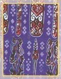Beberapa motif batik Sulawesi Tengah