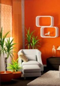 A mi manera c mo decorar las paredes de la sala de estar - Como decorar una salita ...
