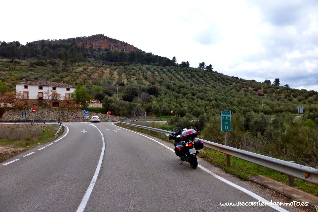 Km 0 A-317 Puente de Génave