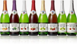 Enter Kristian Regale Sparkling Juices Giveaway to win a case of 6. Ends 7/25
