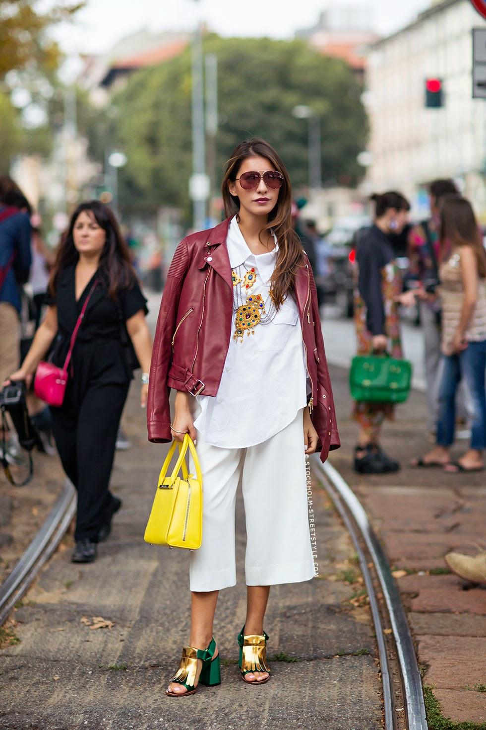 Street style - Moda de rua - Quem arrisca cria tendências