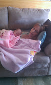 Me and Acelyn Mae Gaudet, Riley's new daughter.