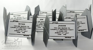 invitacion TIE fighter