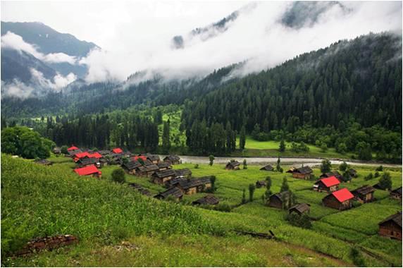 Kareemabad, Neelum valley Azad kashmir