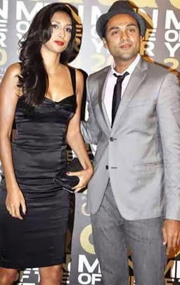 Preeti Desai with abhay deol unseen pics one by two actress