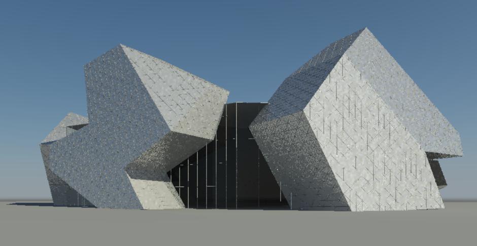 Proyecto Perth Arena, Visualización Digital: septiembre 2012