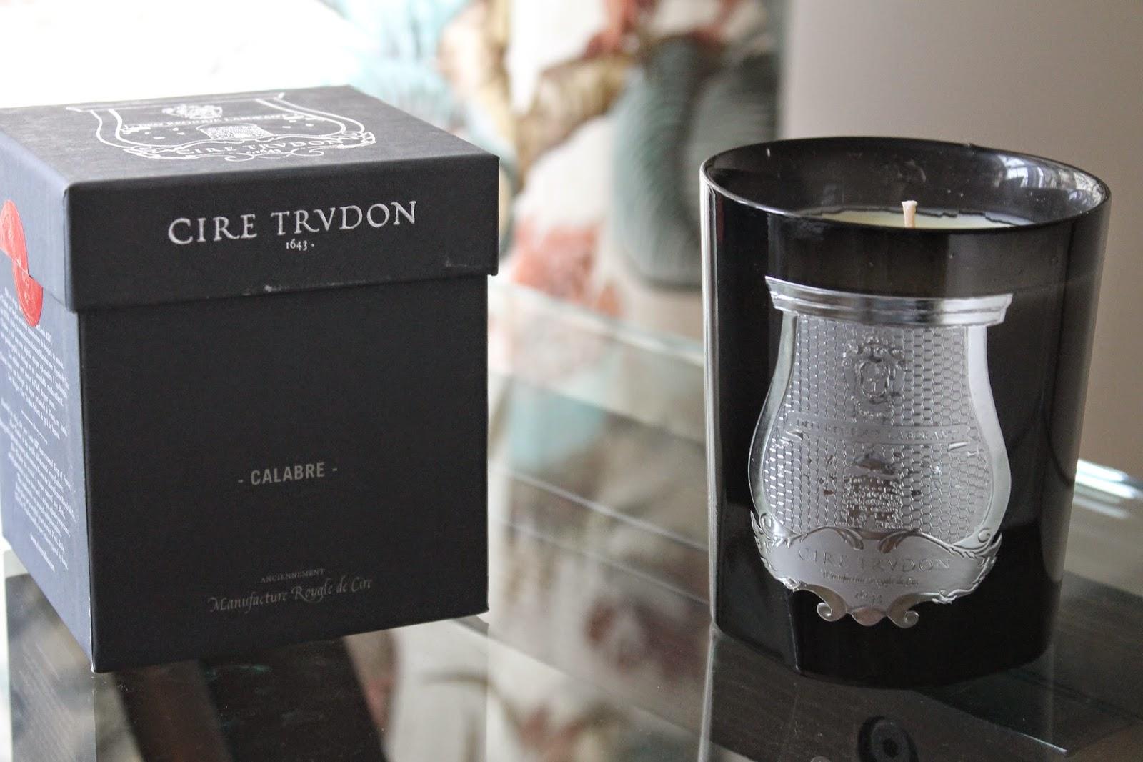 NEW CANDLE LOVE: CIRE TRUDON
