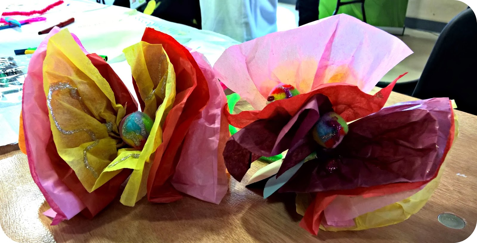 How to be an Allergenius with ao and Hotpoint Crepe Paper Flowers
