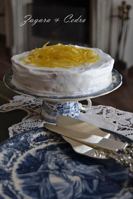 mousse bianca al limoncello di sale & pepe......e di nuovo in pista!!!!