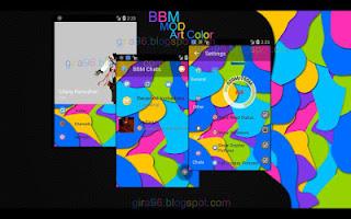BBM MOD Art Color v2.10.0.31 Apk