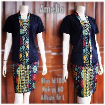 Kebaya Batik Amelia KBW 283