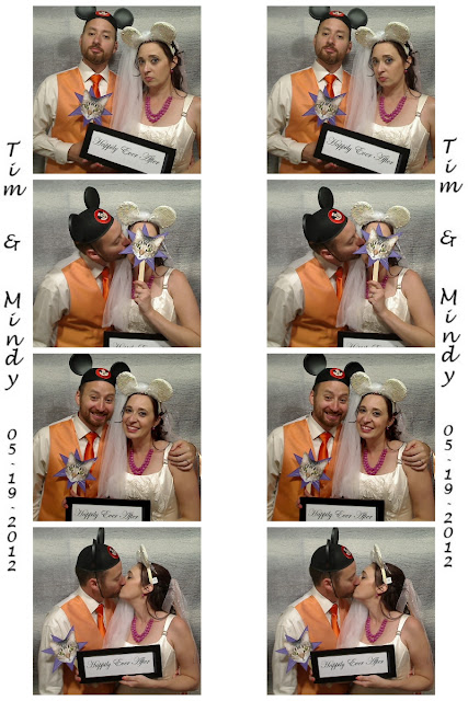 Disneyland Wedding - Photo Booth