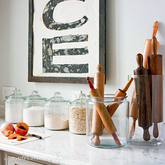 Decorating With Glass Canisters In The Kitchen