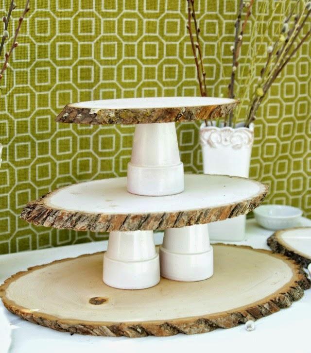 Cake Stand Kitchen Art : 10 DIY Rustic Home Decor Ideas