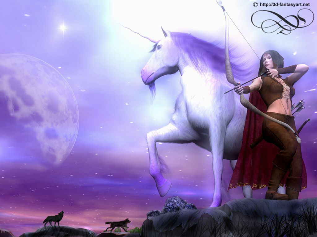 Unicorn horse hd wallpapers - 3d fantasy wallpaper ...