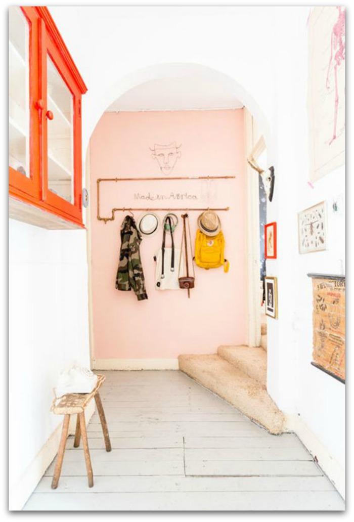 En casa de Oly: 15 Ideas de decoración para cada tipo de entrada