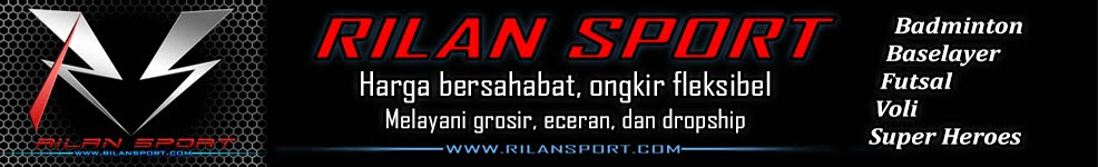 RILANSPORT | Grosir Badminton dan Baselayer Online |  Grosir Manset