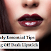 7 Absolutely Essential Tips For Pulling Off Dark Lipstick