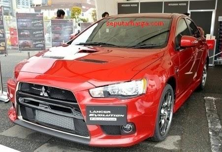 Harga Mobil Mitsubishi Lancer Evolution X