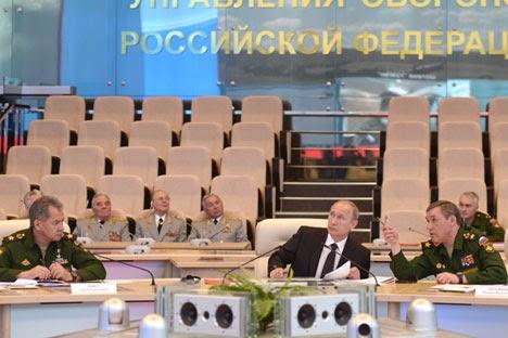 Rusia Dirikan Pusat Pertahanan Rahasia untuk Awasi Seluruh Dunia