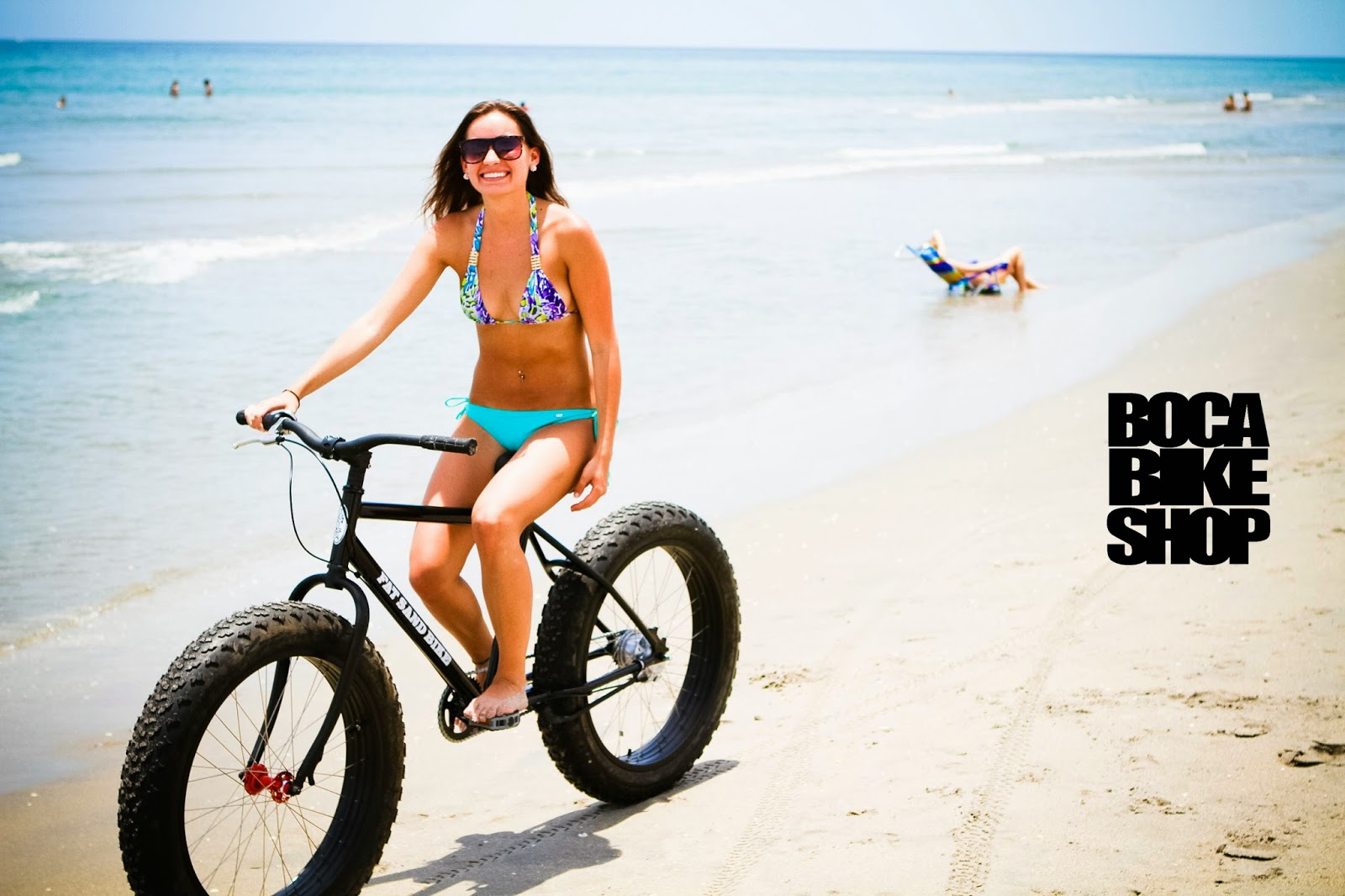 Bikes You Can Ride On The Beach Sand Pose on the beach with and