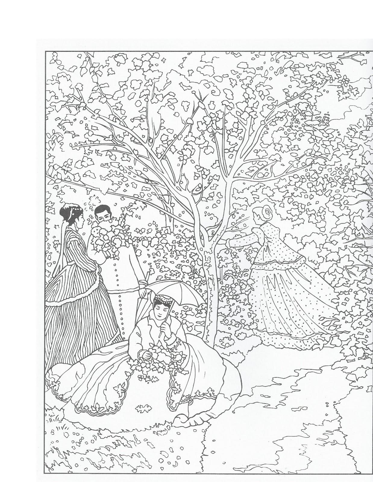 disegni da colorare autori famosi