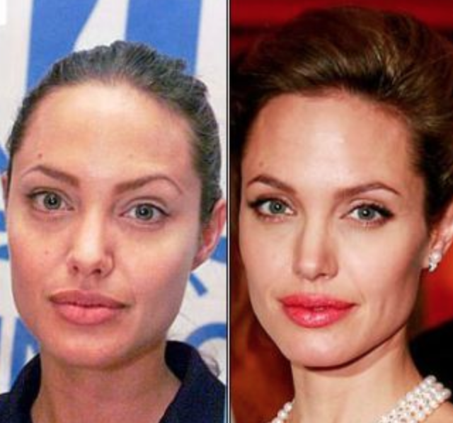 Celebrities Before And After Without Makeup – Liputan Malam