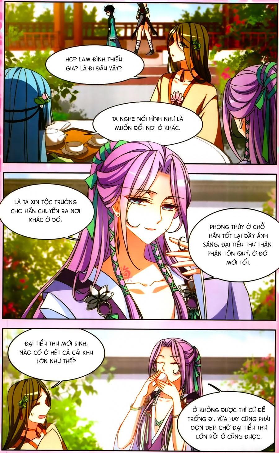 Thiên Giáng Hiền Thục Nam chap 129.5 Trang 5