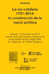 Jornada La via catalana 1701-2014