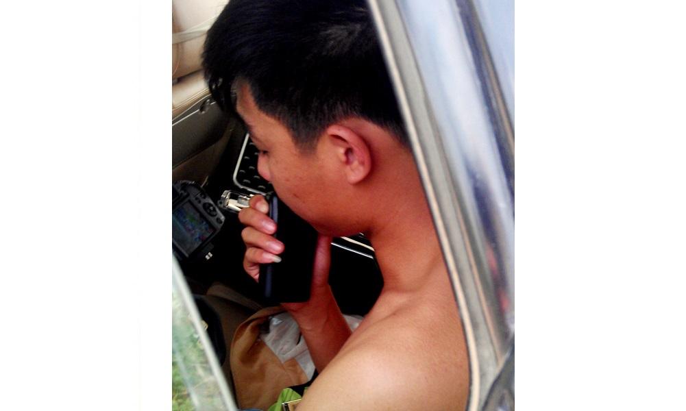 Gia Lai: Kiểm điểm Cảnh sát Giao thông cởi trần bắn tốc độ