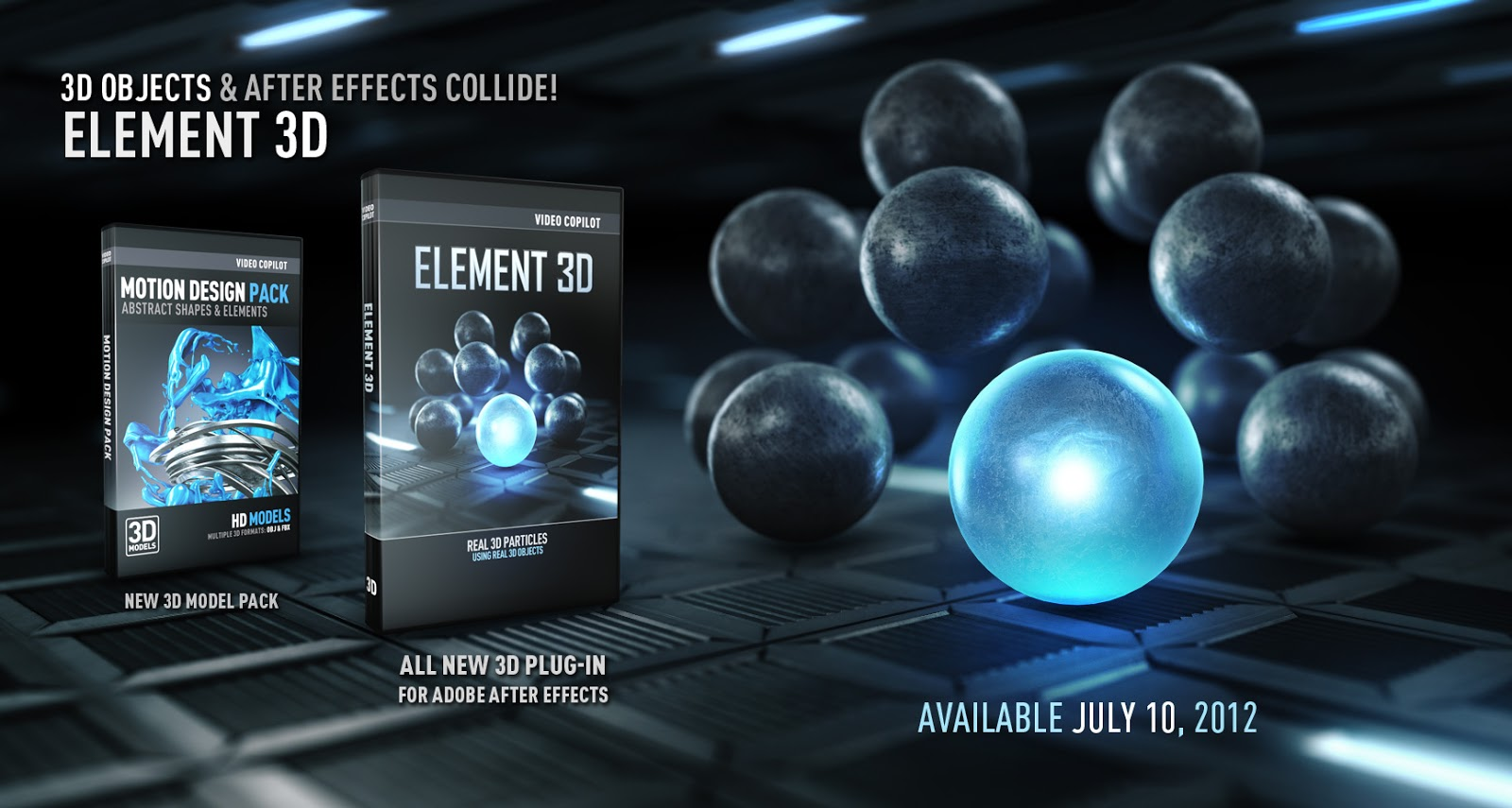 Element 3d para after effects packs for Habitacion 3d after effects