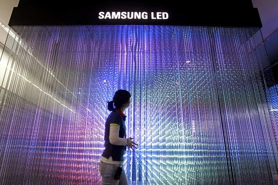 Samsung Switching Off LED Lighting