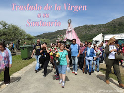 TRASLADO VIRGEN AL SANTUARIO