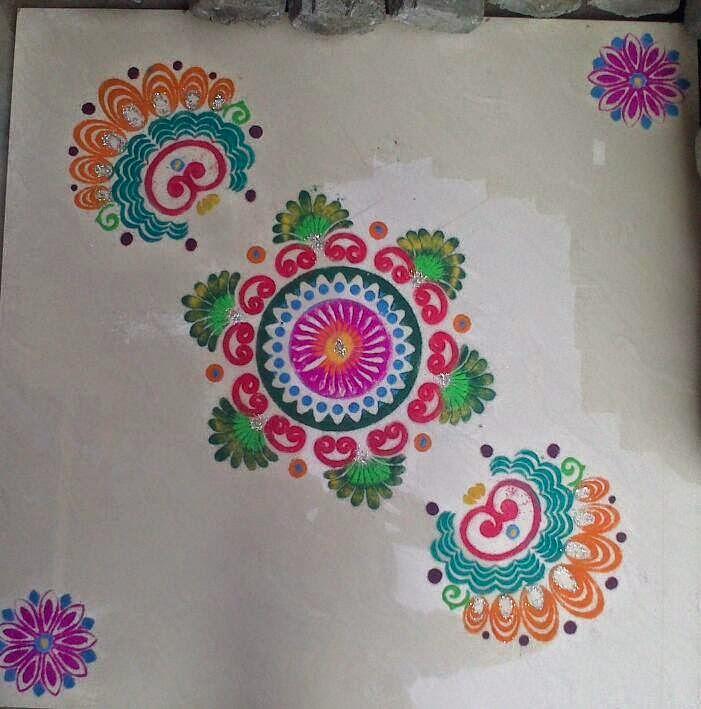 Yojna Kalaskar Kolam Designs 8