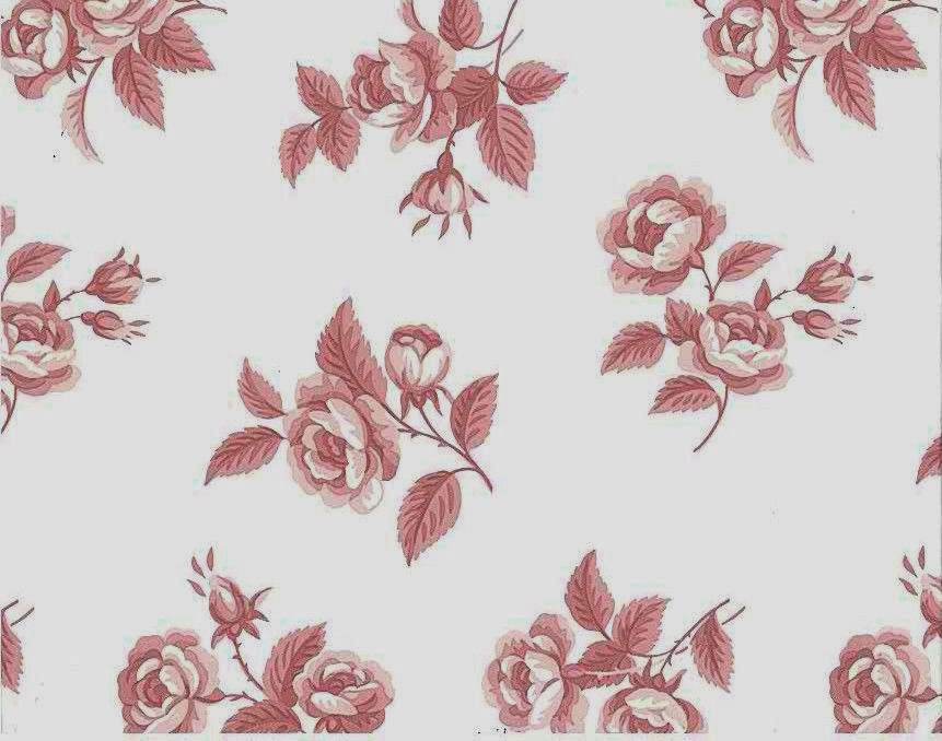 Vintage Rose Wallpaper This Vintage Red Rose Pattern