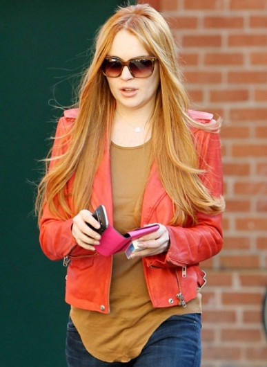 lohan hairstyles: