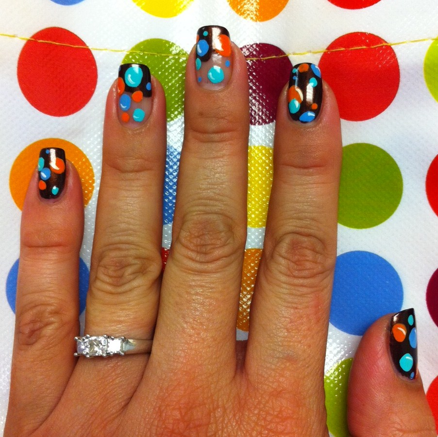 Bubble Nail Art: Bling It ON!: Bubble Nail Art