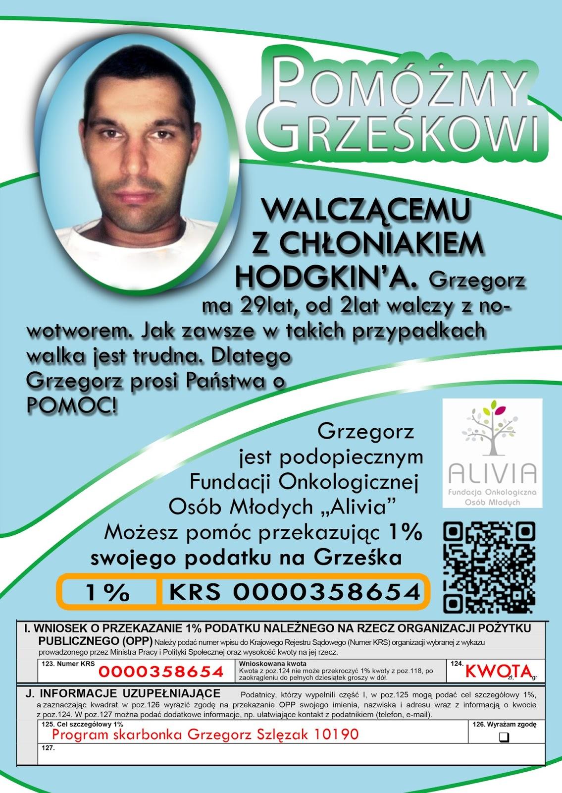pomoc dla Grześka