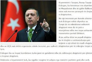 Σενάρια Πολέμου απεργάζεται ο Ερντογάν: Οι Τούρκοι στρατιώτες βρίσκονται σε επιφυλακή να βοηθήσουν τους Αλβανούς για να απελευθερώσουν τη γη τους!!