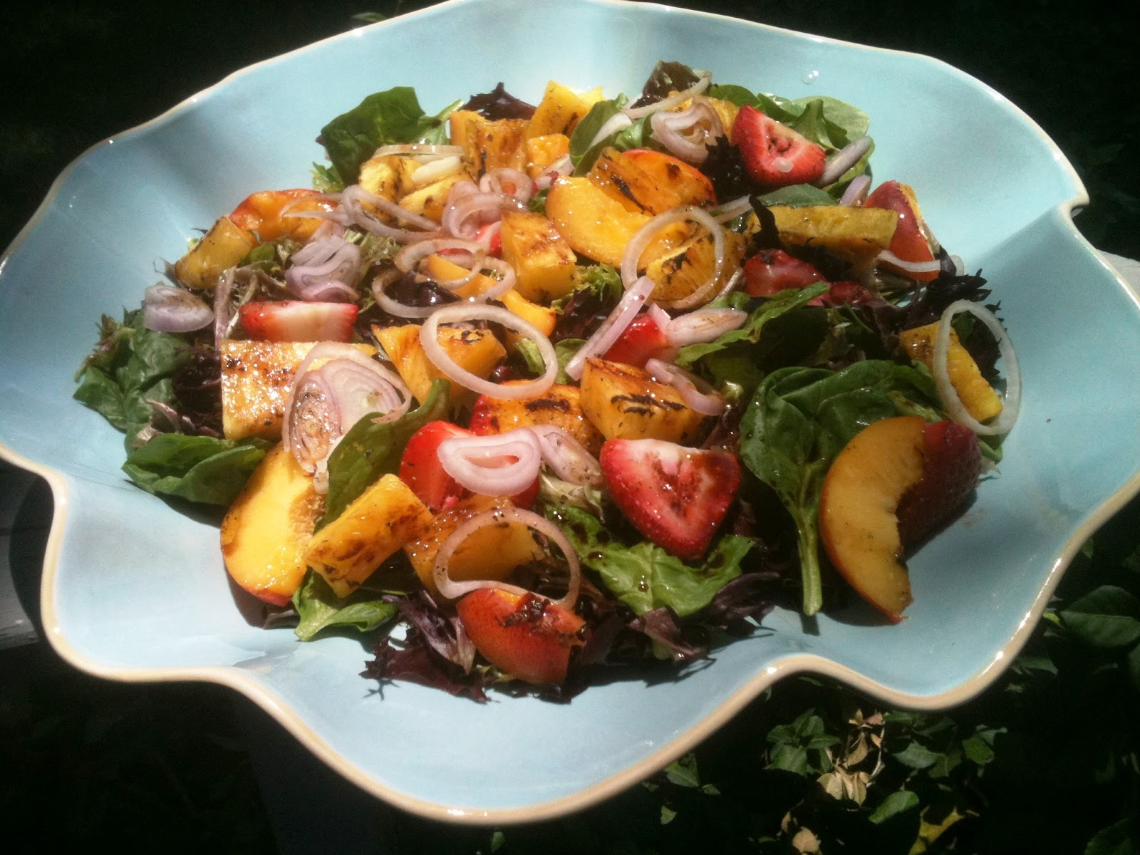 Kitchen Caucus: Grilled Fruit Salad Sluice