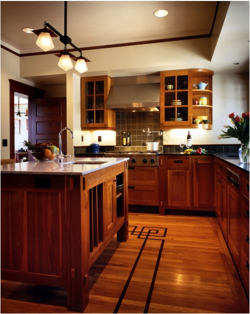 Key interiors by shinay arts and crafts kitchen ideas for Arts and crafts kitchen designs